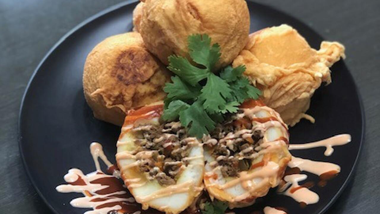 Food Rock Cafe platter