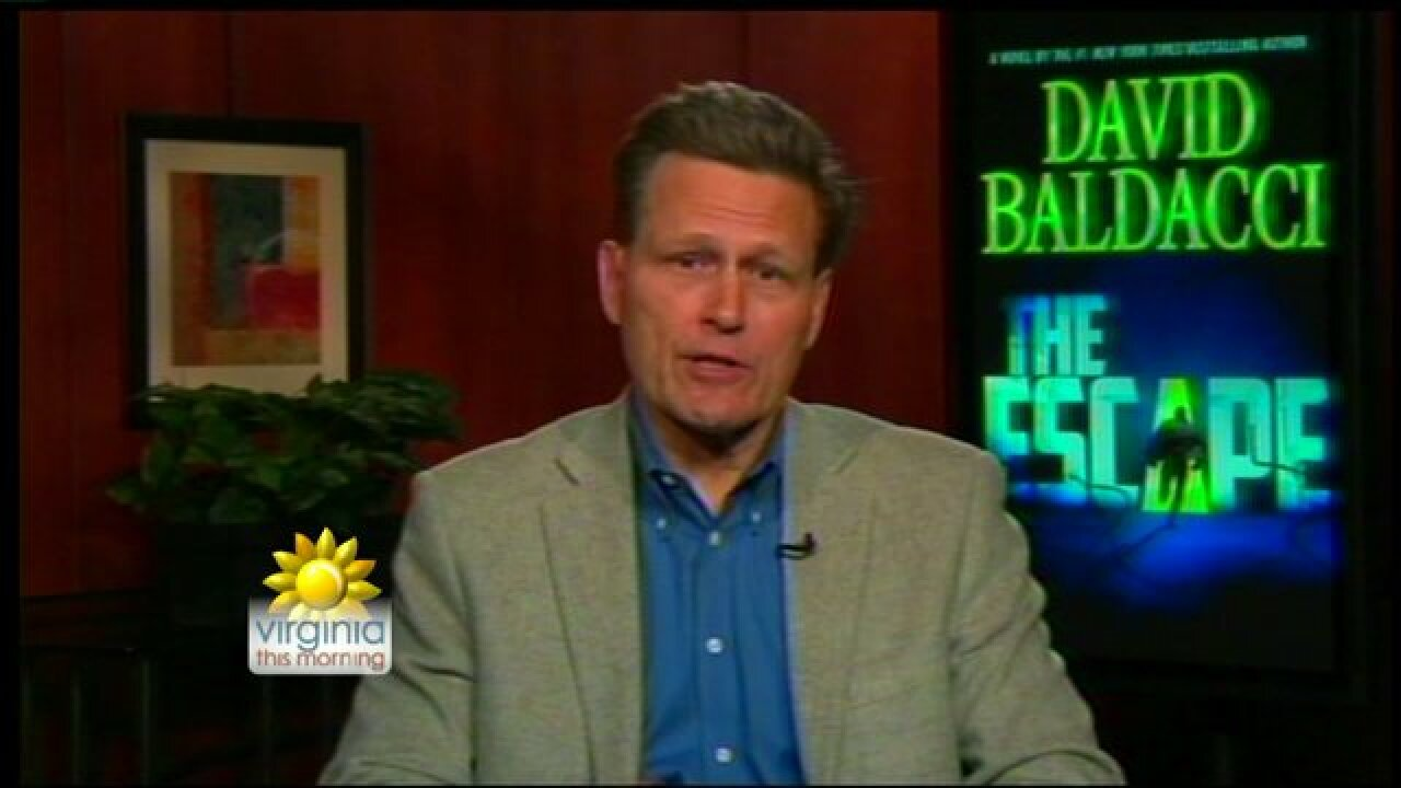 "Dive into David Baldacci's latest thriller, ""The Escape"""