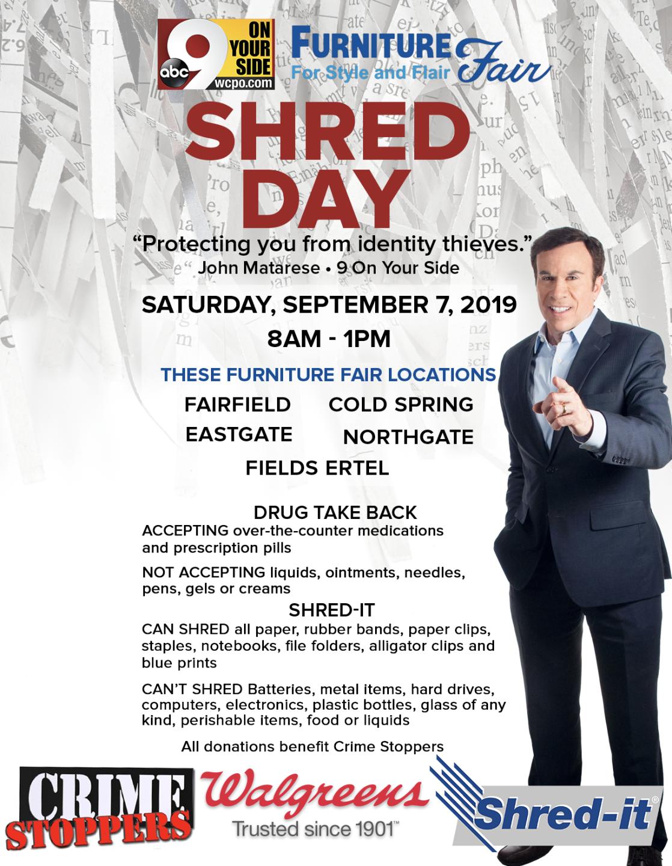 Shred Day Poster Sept 2019
