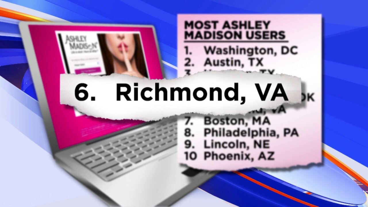 Richmond in top 10 of spots using cheating service that was hacked