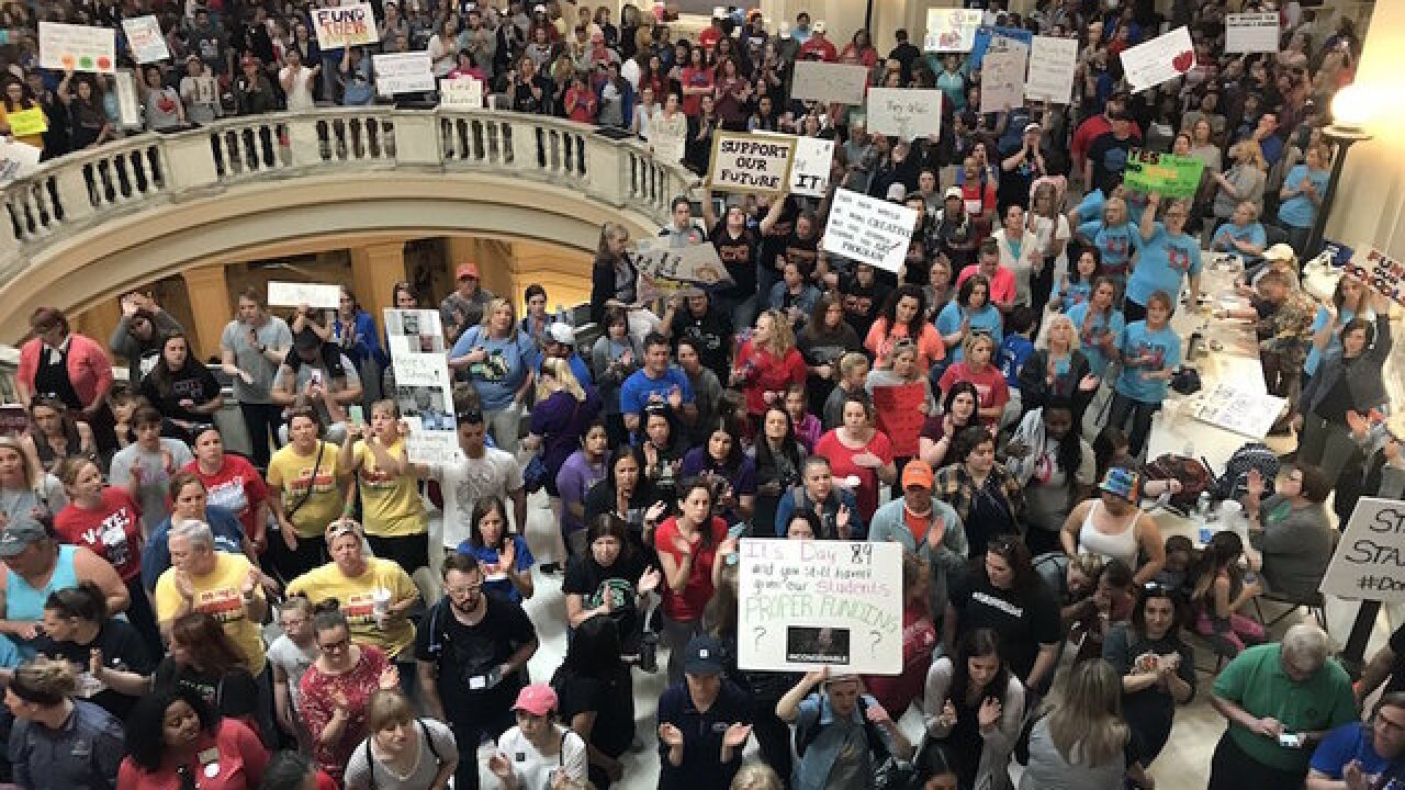Oklahoma teacher walkout ends