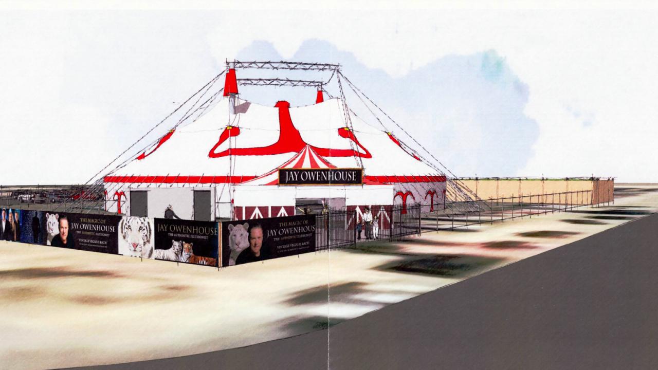 tiger tent rendering