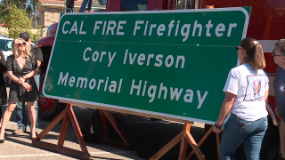 cory iverson memorial highway sign