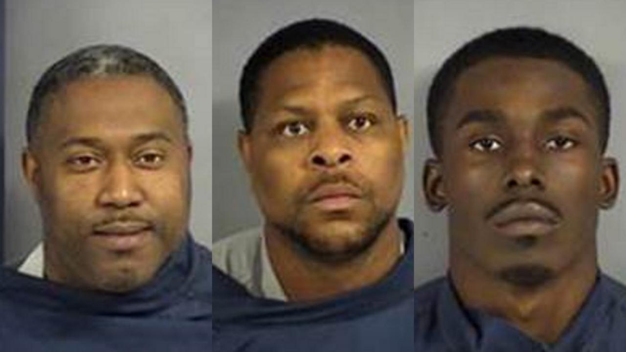 Three Men Arrested After Valdosta Drug Investigations