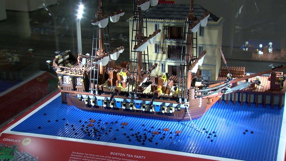 History comes to life through LEGO bricks at Tampa Bay History Center