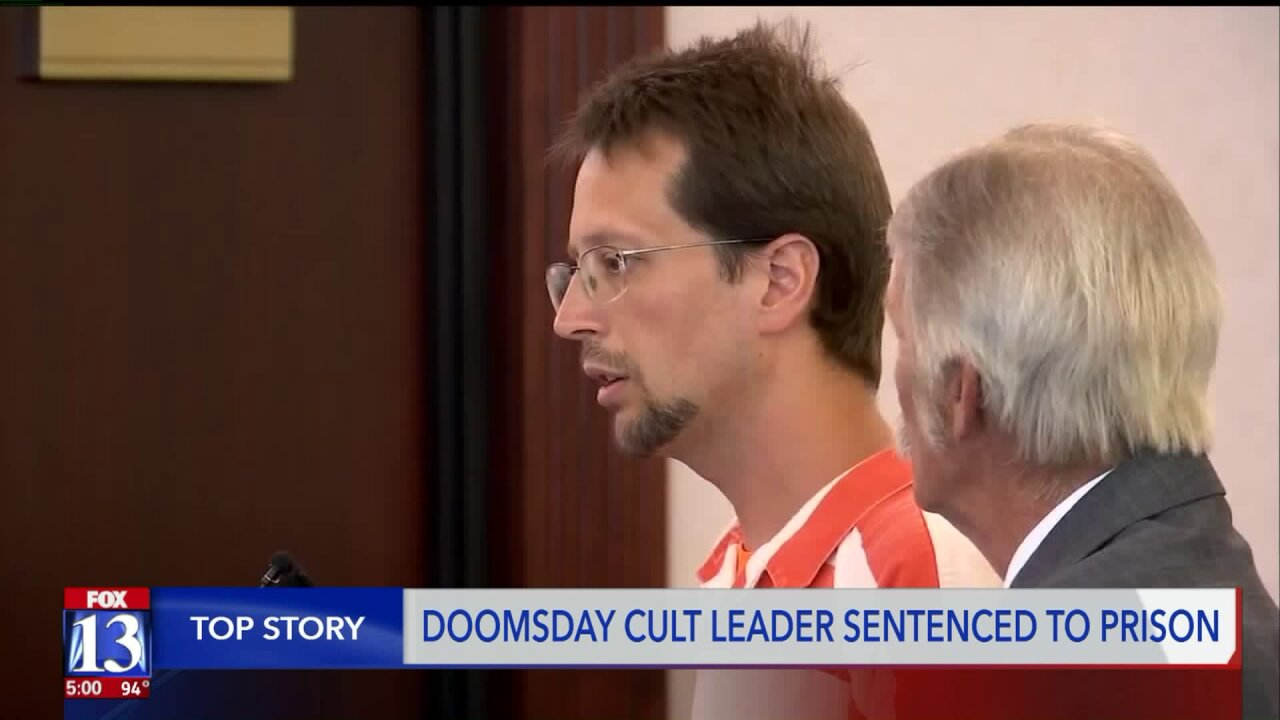 Utah doomsday cult leader sentenced on child bigamy, sex abuse charges