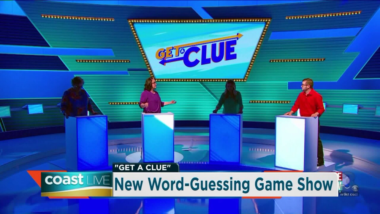 Talking with the host of a new word-guessing game show on CoastLive