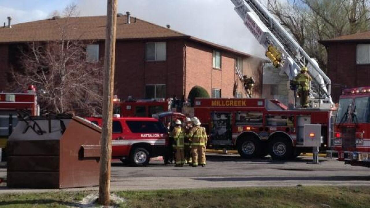 Holladay apartment fire caused by 'construction work'