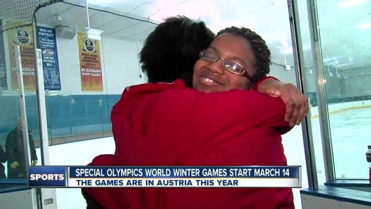 Special Olympics star shares her unlikely story