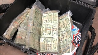 Cash seized following I-80 crash
