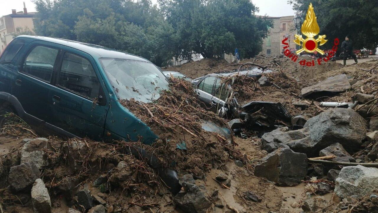 Italy Sardinia Mudslide