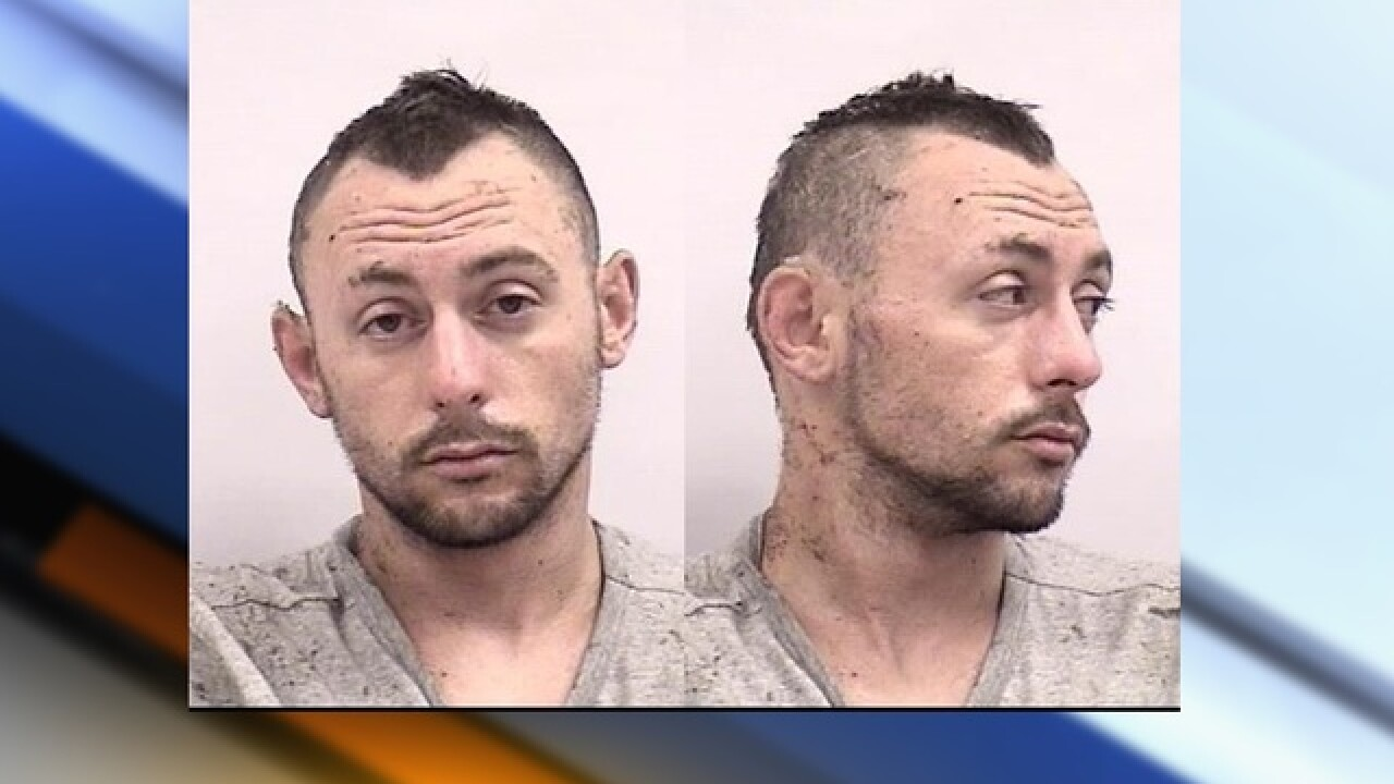 Attempted murder suspect arrested after five hour standoff in tree in Colorado Springs