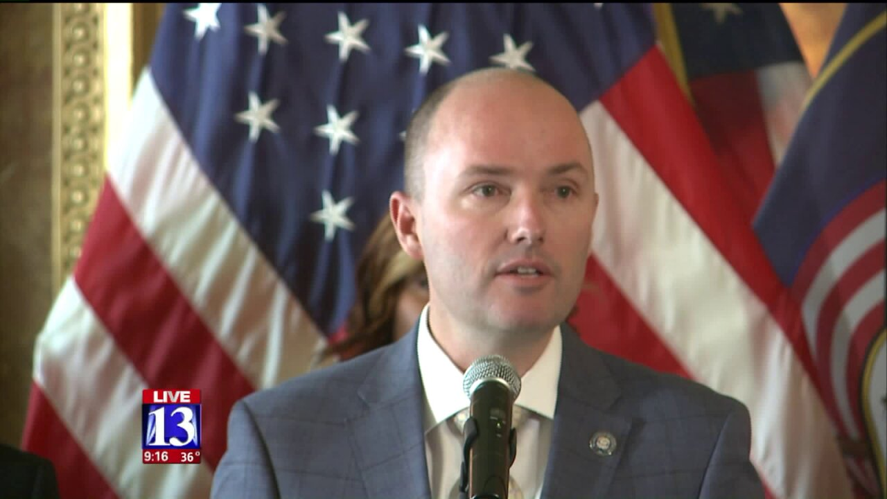 Lt. Governor Spencer Cox shares personal stories on suicide, hopes to startconversation