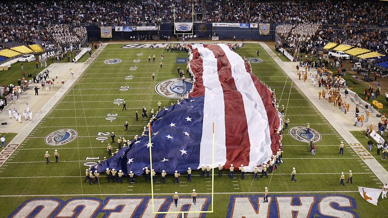 Holiday Bowl - Washington State v Texas