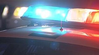 Suspect tries to evade police and hits utility box dimming lights in area
