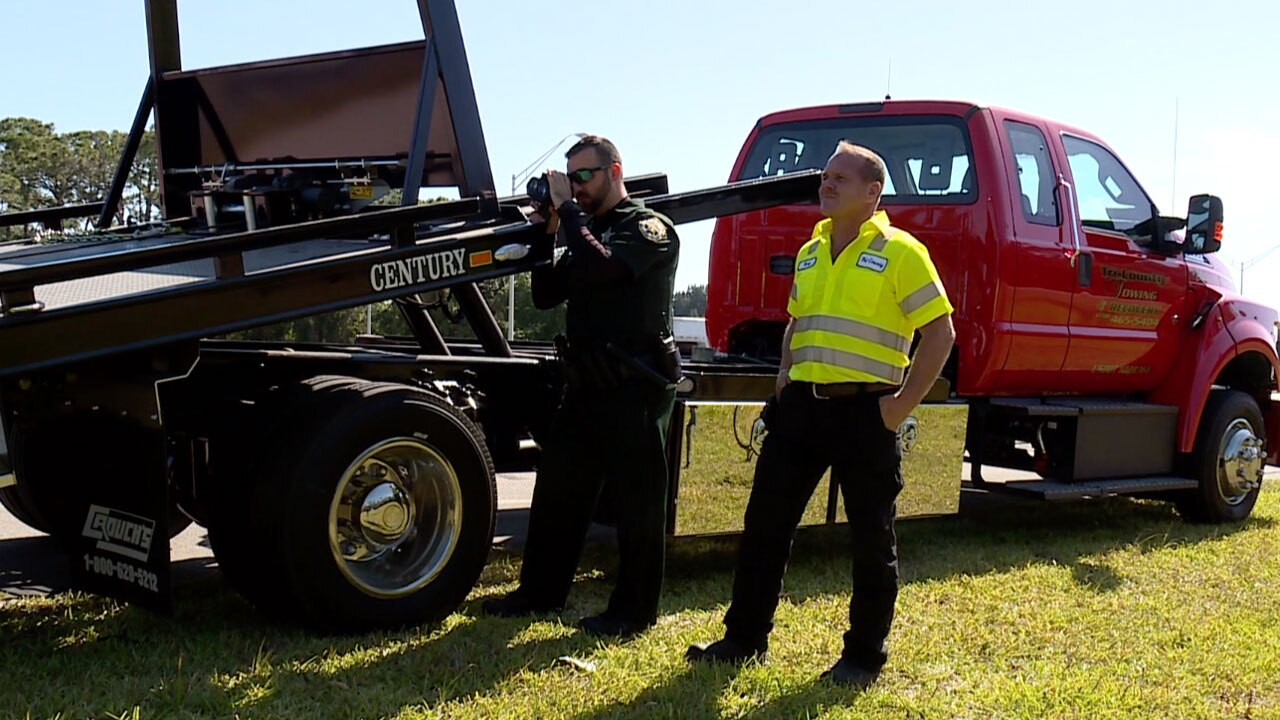 St. Lucie County Sheriff's Office Move Over law campaign