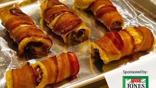 Recipe of the Month: Braunschweiger Rumaki Roll-Ups