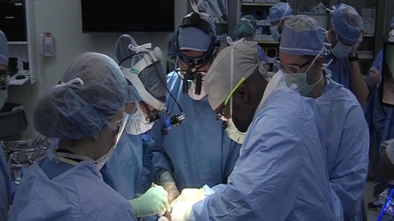 in utero fetal surgery