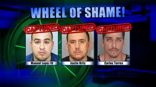 Wheel Of Shame Fugitives Arrested: Manuel Lopez III, Justin Ortiz & Carlos Torres