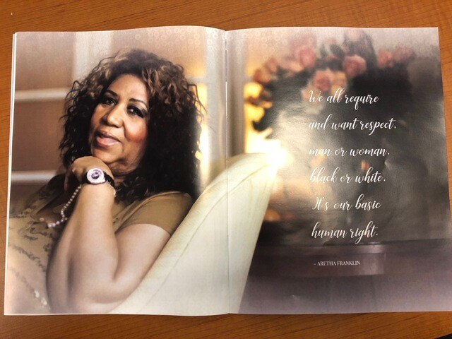PHOTOS: Limited edition print for family, friends of Aretha Franklin honors her legacy