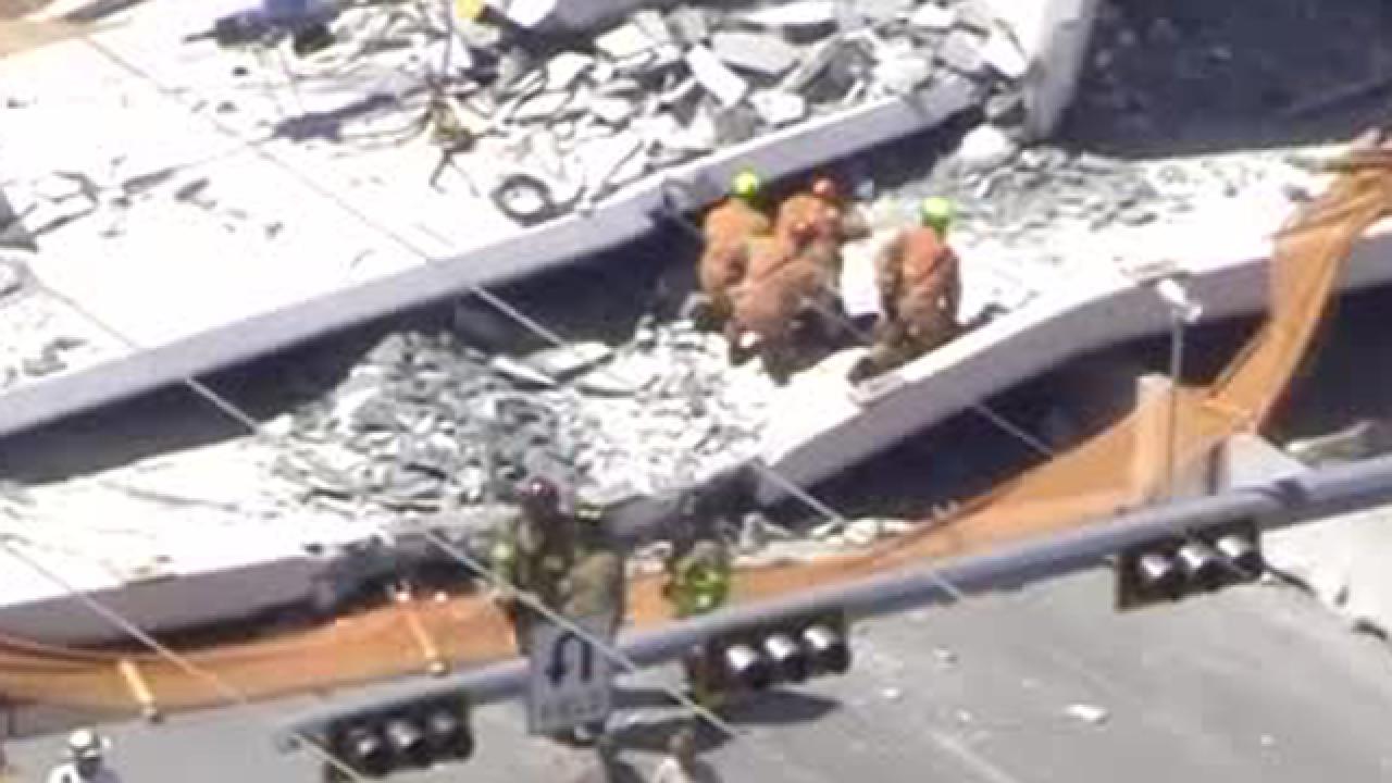 NTSB cites design errors in FIU bridge collapse