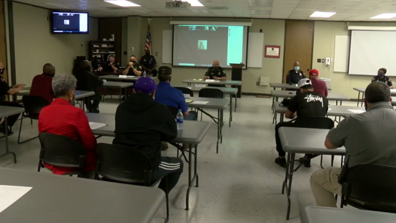 Lafayette PD and City Marshal Office meeting