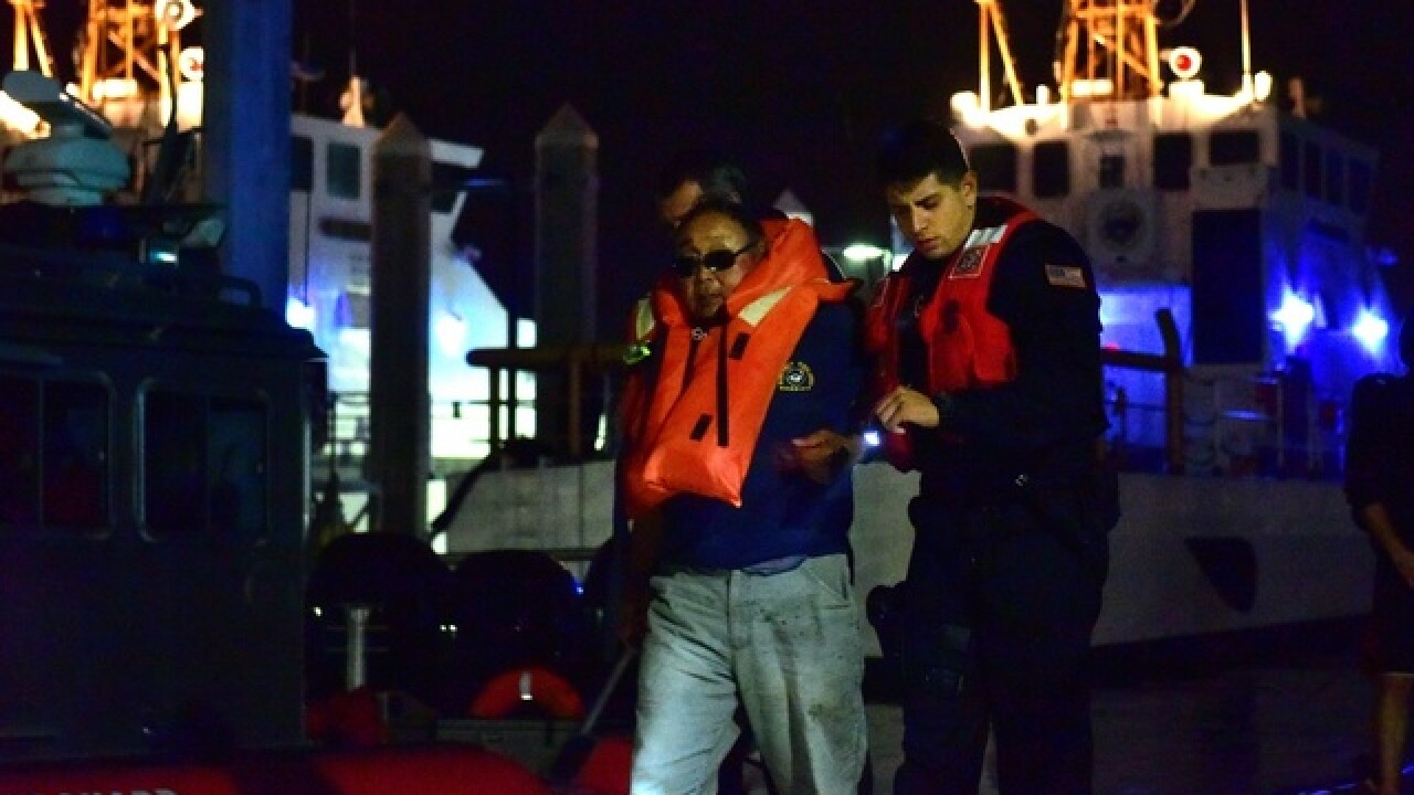 1 dead, 17 rescued in yacht, fishing boat crash