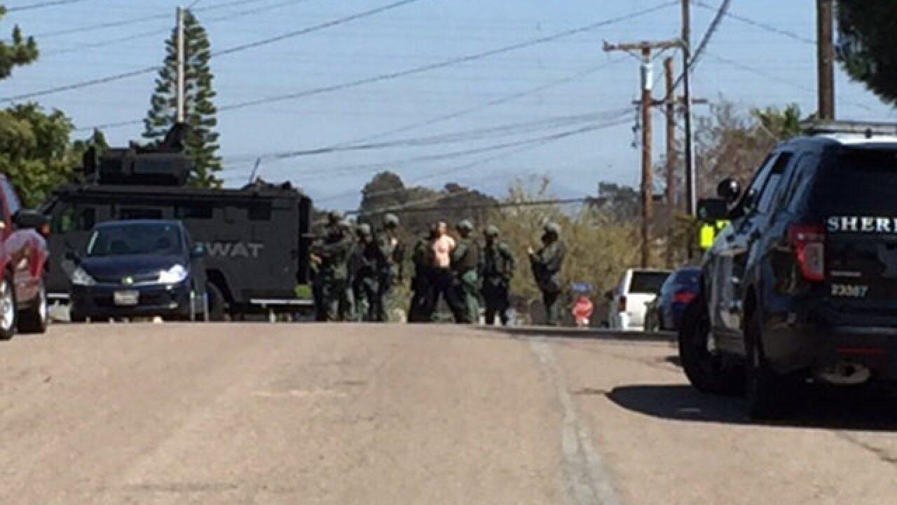 SWAT standoff near Montgomery Elementary