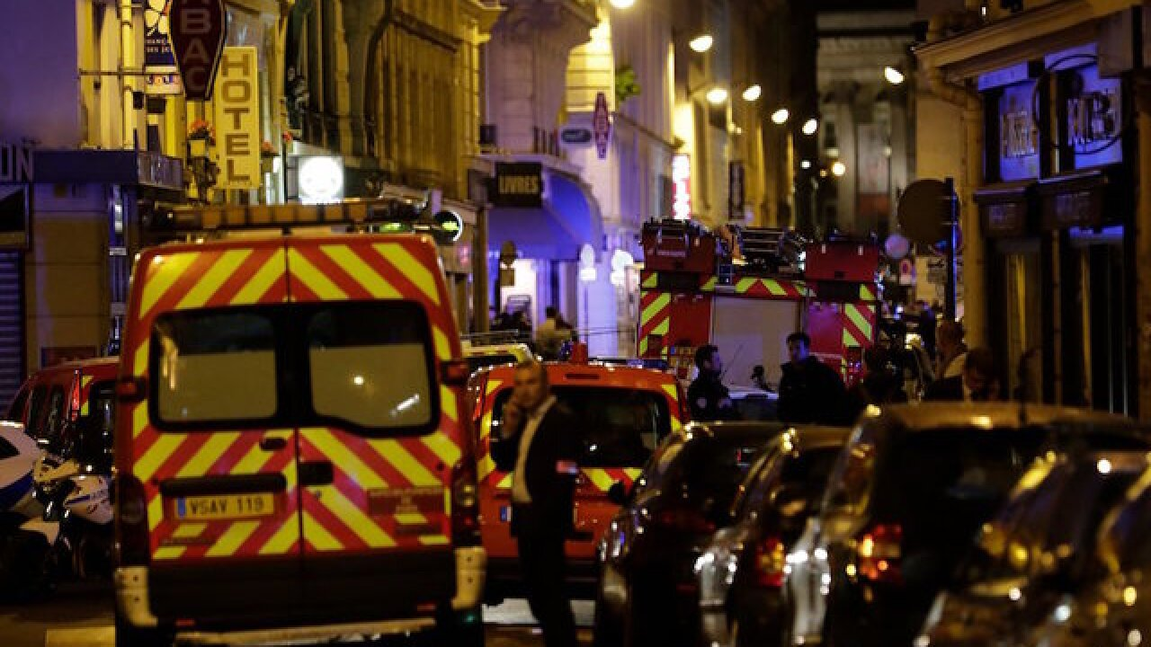 Attacker yells 'Allahu Akbar,' stabs 5 in Paris before police take him down