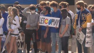 Local high school football protests for fall football season in Colorado Springs