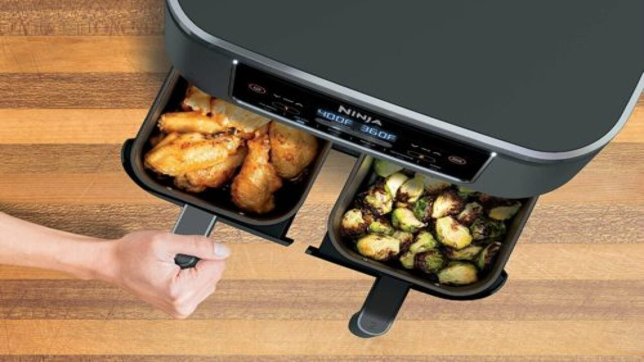 Ninja Released A 2-basket Air Fryer So You Can Cook 2 Dishes At Once