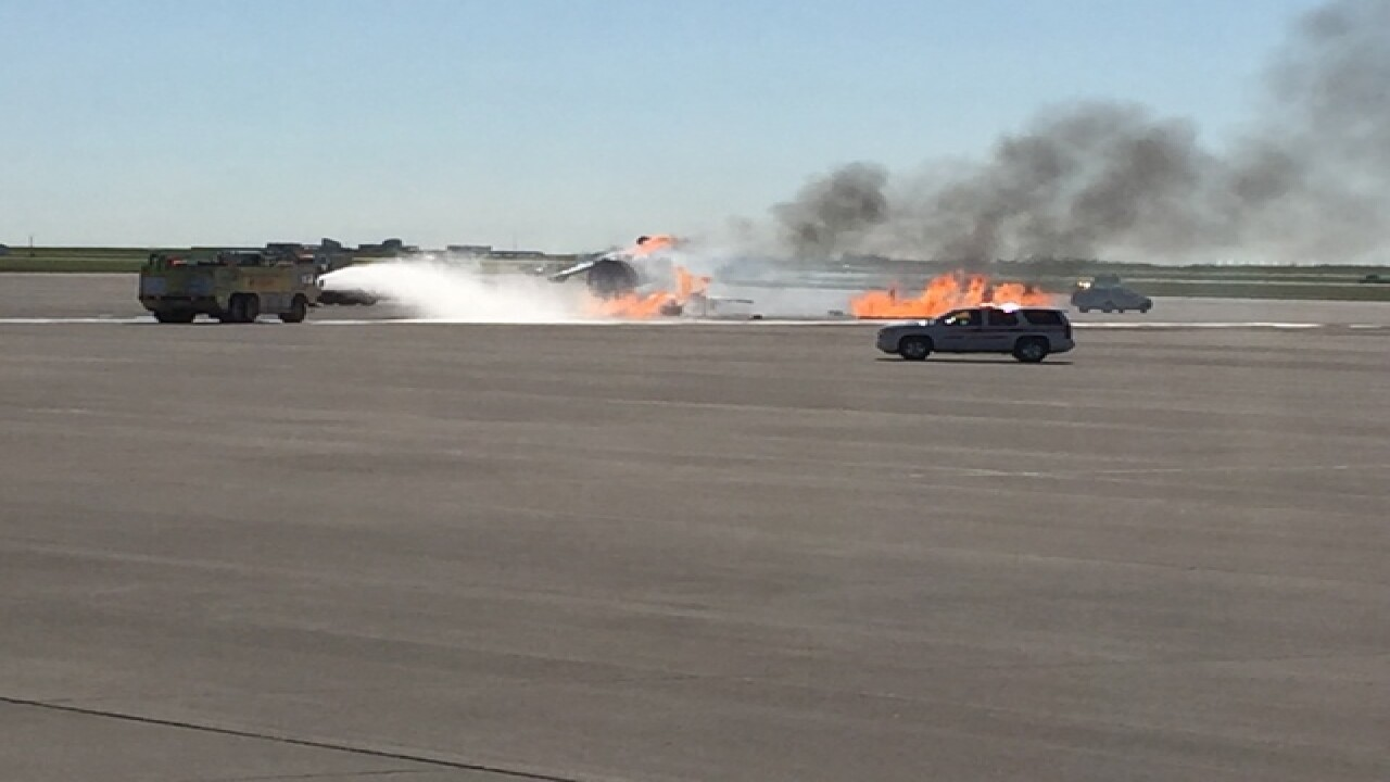 Disaster training at Indianapolis airport
