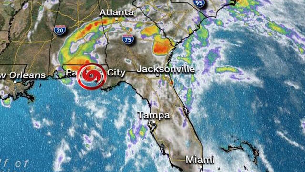 Alberto weakens to tropical depression
