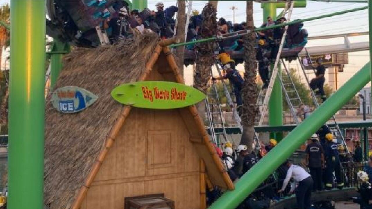 Roller coaster rescue Castles N' Coasters