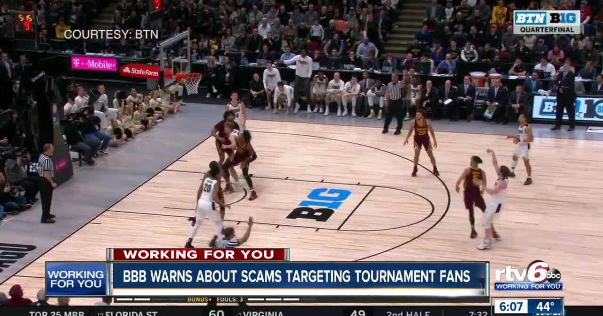 BBB warns about scams targeting tournament fans