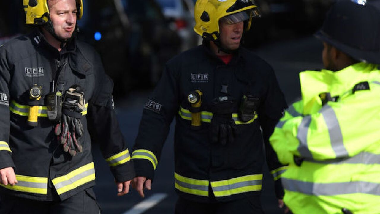 Police: Explosion in London subway is terrorism
