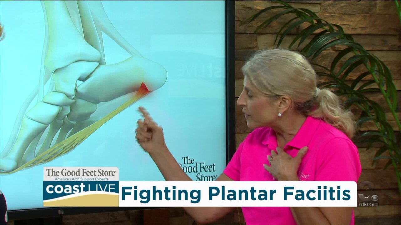 The problems and pain of plantar fasciitis on CoastLive