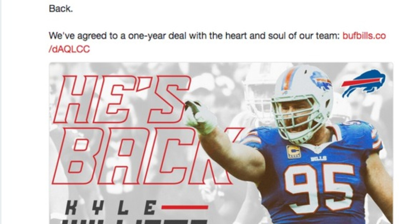 Kyle Williams sticking with the Buffalo Bills