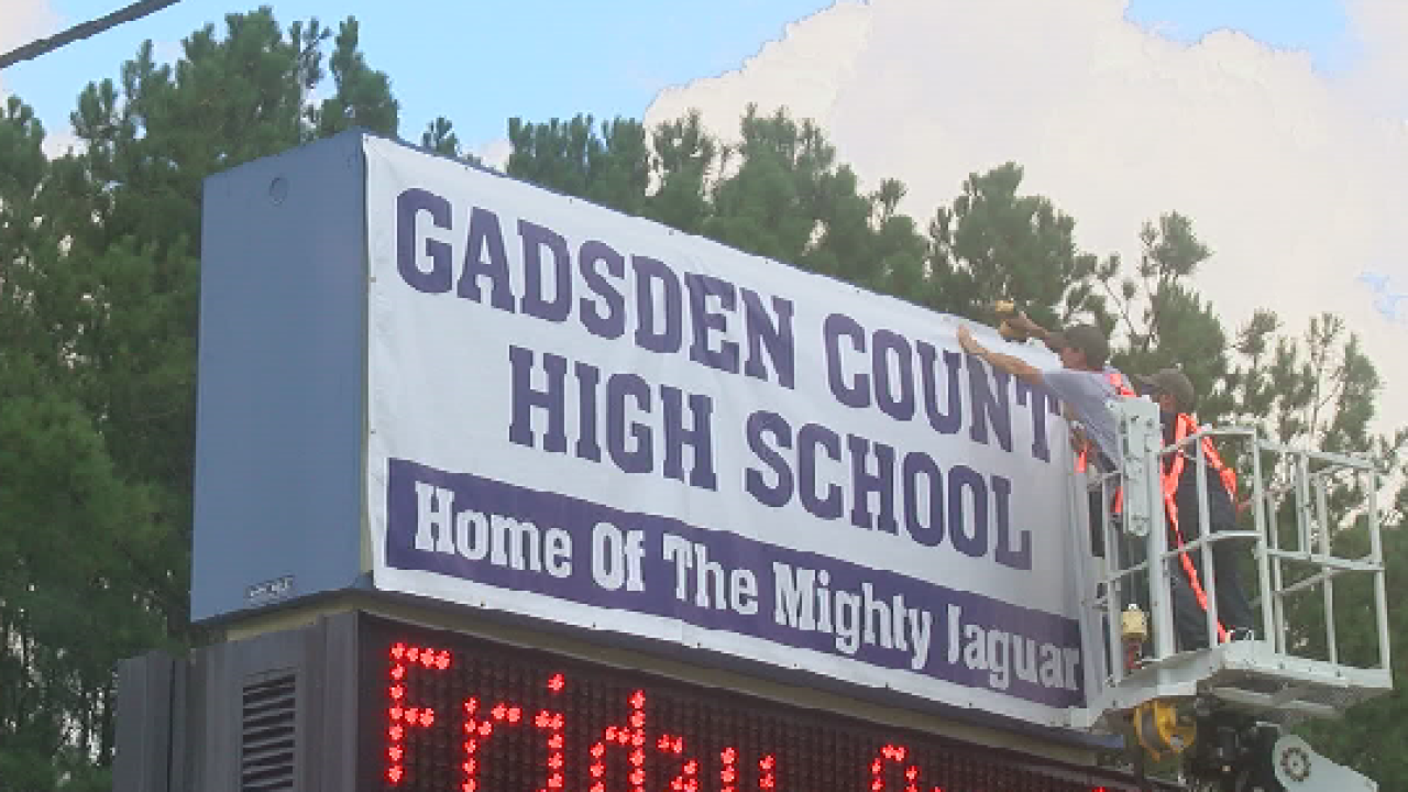 Gadsden Co. students start new year at new high school