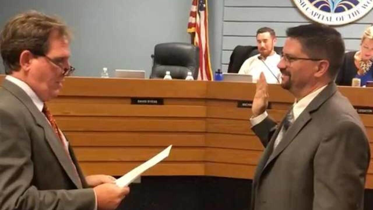 David Dyess sworn in as new city manager of Stuart