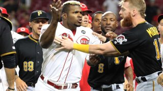 Yasiel Puig was in a benches-clearing brawl minutes after he reportedly was traded