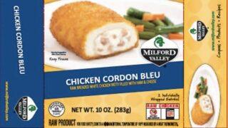 Frozen breaded, stuffed chicken recalled due to salmonella outbreak