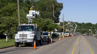 Photos: Dominion Power: 90 percent of customers should have power restored by Saturdaynight