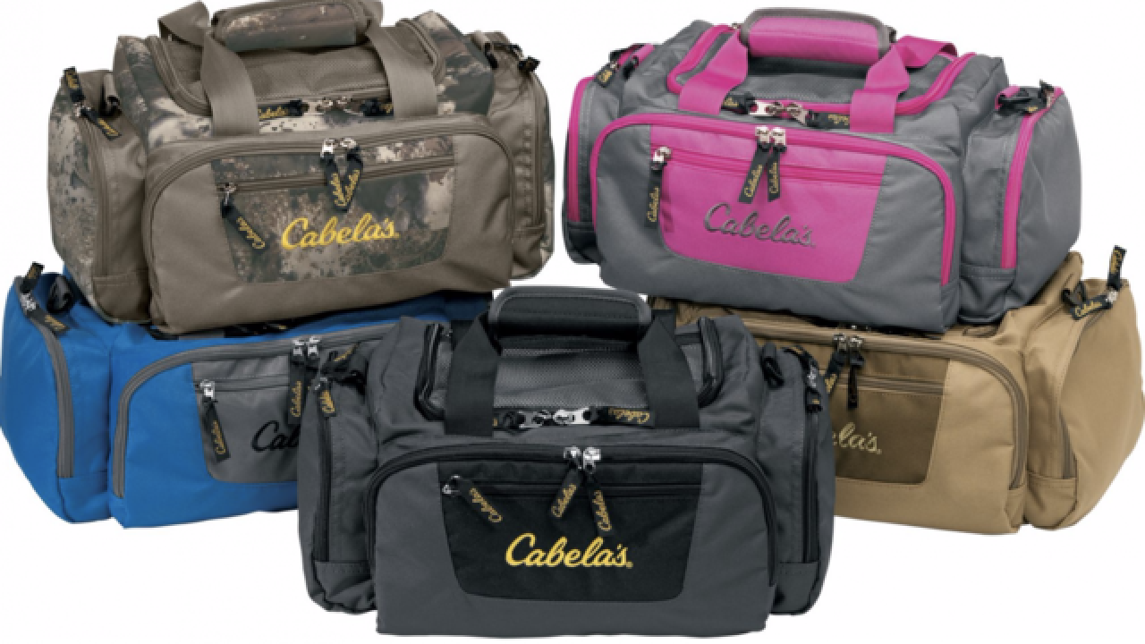 Cabela's catch-all gear bag is on sale for just $9.99