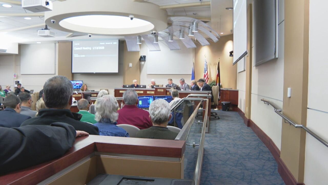 Pueblo City Council meeting to discuss proposed ordinance on energy options.