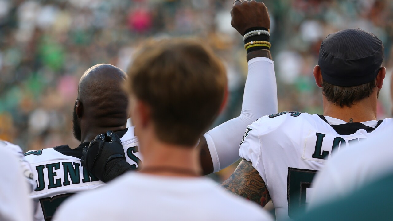 NFL players kneel, raise fists or sit out National Anthem as they kick off slate of preseason games