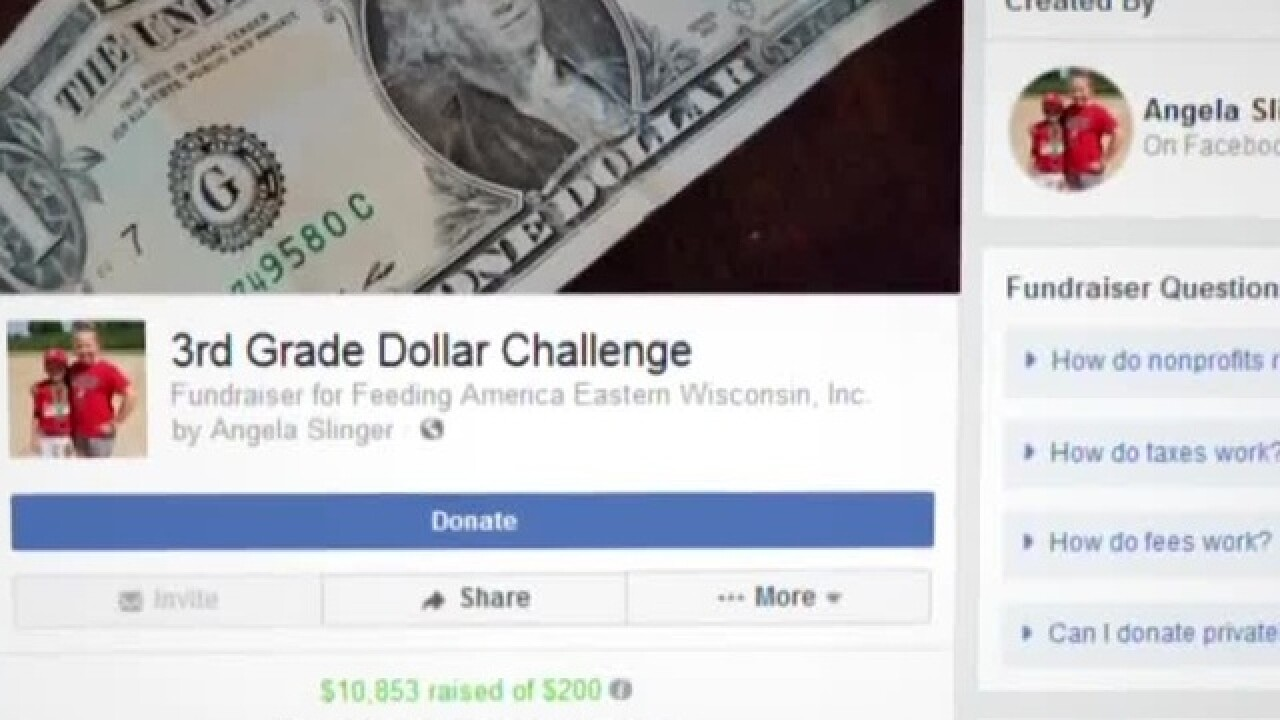 Dollar Challenge raises thousands to feed hungry