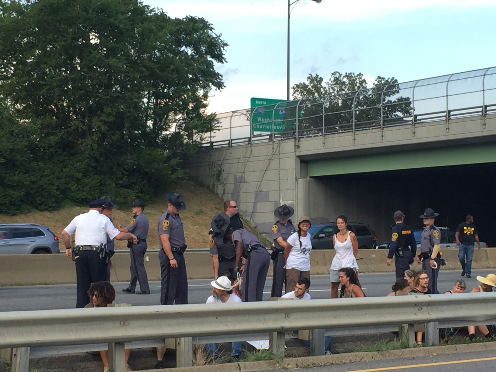 Photos: 13 BLM protesters sentenced to 5 days in jail for blocking I-95 in July