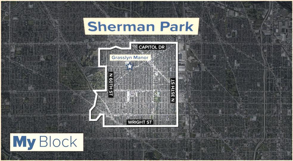 Map of Sherman Park