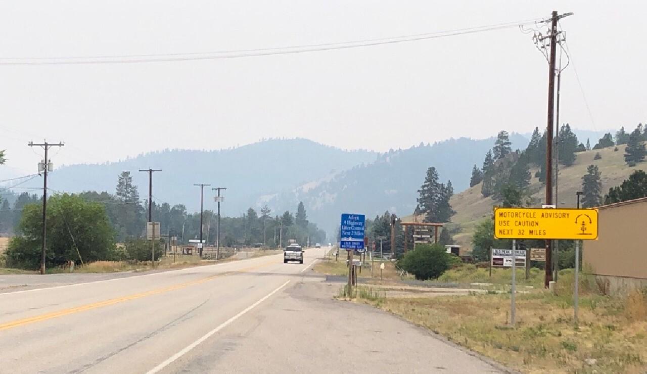 Lolo Highway 12 Smoke 719